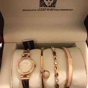 Anne Klein Watch / Bracelet Set - Brand New